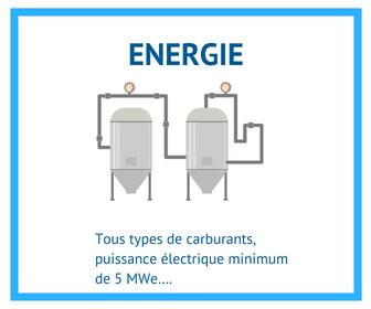 Leads pour les fournisseurs d'équipements industriels pour la production énergétique